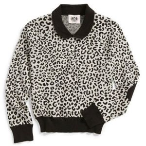 Juicy Couture Wild Cheetah Jacquard Sweater 😍
